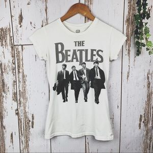 The Beatles Youth Girls Graphic Tee Size M (7 - 9)